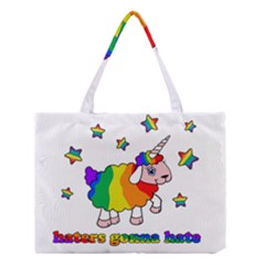 Unicorn Sheep Medium Tote Bag by Valentinaart