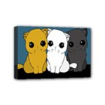 Cute cats Mini Canvas 6  x 4
