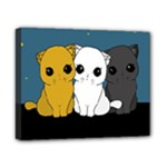 Cute cats Canvas 10  x 8