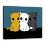 Cute cats Canvas 20  x 16