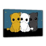 Cute cats Canvas 18  x 12
