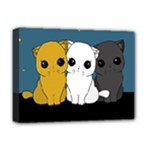 Cute cats Deluxe Canvas 16  x 12