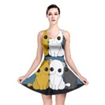 Cute cats Reversible Skater Dress