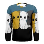 Cute cats Men s Long Sleeve Tee