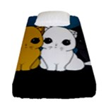 Cute cats Fitted Sheet (Single Size)