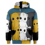 Cute cats Men s Pullover Hoodie