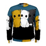 Cute cats Men s Sweatshirt