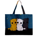 Cute cats Zipper Mini Tote Bag