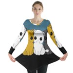 Cute cats Long Sleeve Tunic