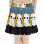 Cute cats Pleated Mini Skirt