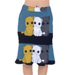 Cute cats Mermaid Skirt