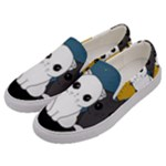 Cute cats Men s Canvas Slip Ons