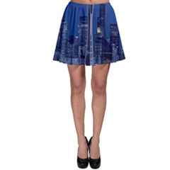 Space Needle Seattle Washington Skater Skirt