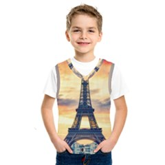 Eiffel Tower Paris France Landmark Kids  Sportswear