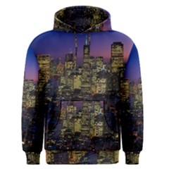 San Francisco California City Urban Men s Pullover Hoodie