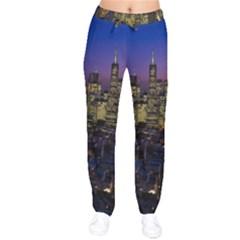 San Francisco California City Urban Drawstring Pants