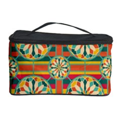 Eye Catching Pattern Cosmetic Storage Case by linceazul