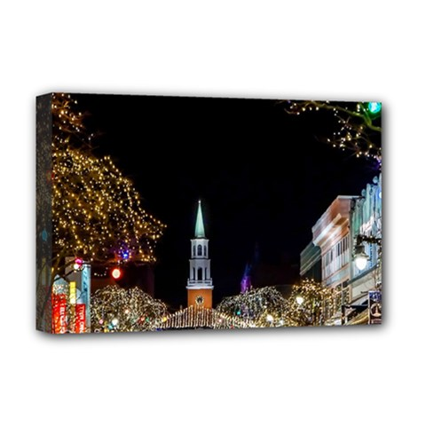 Church Decoration Night Deluxe Canvas 18  X 12