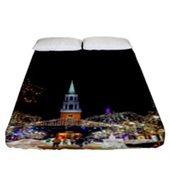Church Decoration Night Fitted Sheet (king Size)