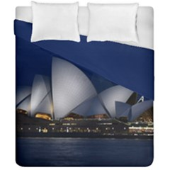 Landmark Sydney Opera House Duvet Cover Double Side (california King Size)