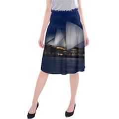 Landmark Sydney Opera House Midi Beach Skirt