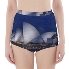 Landmark Sydney Opera House High Waisted Bikini Bottoms
