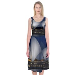 Landmark Sydney Opera House Midi Sleeveless Dress