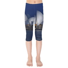 Landmark Sydney Opera House Kids  Capri Leggings