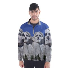 Mount Rushmore Monument Landmark Wind Breaker (men)