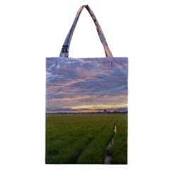 Landscape Sunset Sky Sun Alpha Classic Tote Bag
