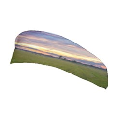 Landscape Sunset Sky Sun Alpha Stretchable Headband