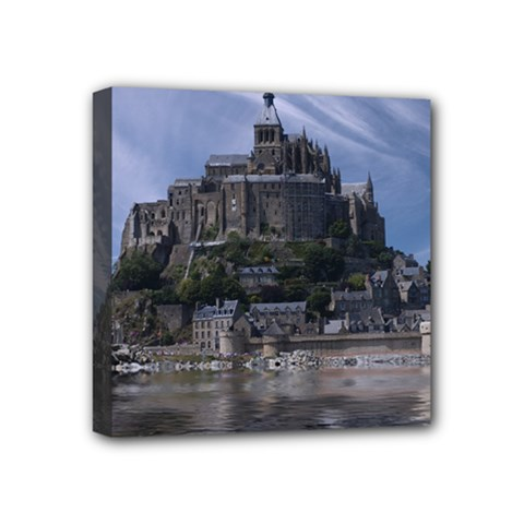 Mont Saint Michel France Normandy Mini Canvas 4  X 4