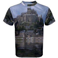 Mont Saint Michel France Normandy Men s Cotton Tee