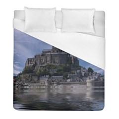 Mont Saint Michel France Normandy Duvet Cover (full/ Double Size)