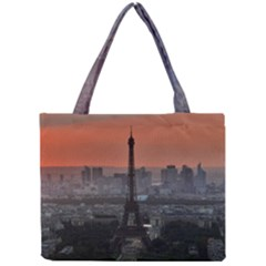 Paris France French Eiffel Tower Mini Tote Bag by Nexatart