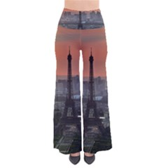 Paris France French Eiffel Tower Pants