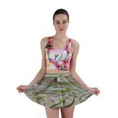 Rice Fields Terraced Terrace Mini Skirt