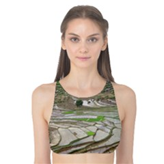 Rice Fields Terraced Terrace Tank Bikini Top