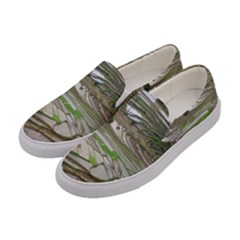 Rice Fields Terraced Terrace Women s Canvas Slip Ons by Nexatart