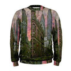 Flat Iron Building Toronto Ontario Men s Sweatshirt