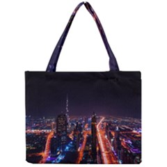 Dubai Cityscape Emirates Travel Mini Tote Bag