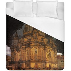 Dresden Frauenkirche Church Saxony Duvet Cover (california King Size)
