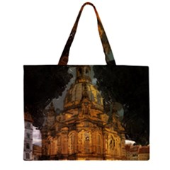 Dresden Frauenkirche Church Saxony Zipper Large Tote Bag