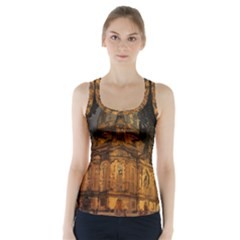 Dresden Frauenkirche Church Saxony Racer Back Sports Top