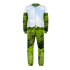 Bali Rice Terraces Landscape Rice Onepiece Jumpsuit (kids)