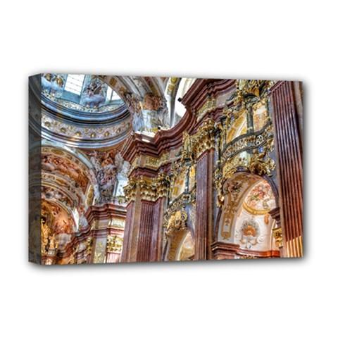Baroque Church Collegiate Church Deluxe Canvas 18  X 12