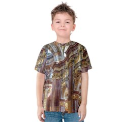 Baroque Church Collegiate Church Kids  Cotton Tee