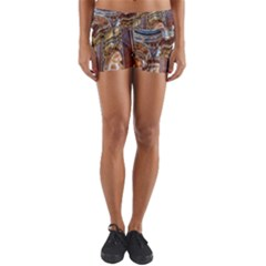Baroque Church Collegiate Church Yoga Shorts