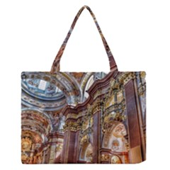 Baroque Church Collegiate Church Zipper Medium Tote Bag