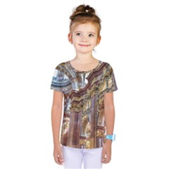 Baroque Church Collegiate Church Kids  One Piece Tee